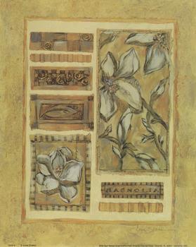 MAGNOLIA - Flower 5246  8 - By A Joyce Shelton - Print 10
