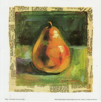 Green Herb 2 BASIL by Leslie Slattler -- 10