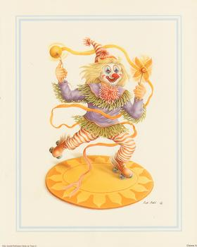 Rob Pohl Print - Clown 10