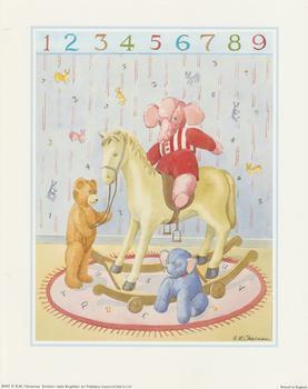 B M Cheesman Print - Nursery Scene 10