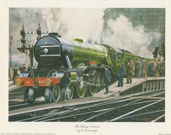 The Flying Scotsman by G Cartwright - 10