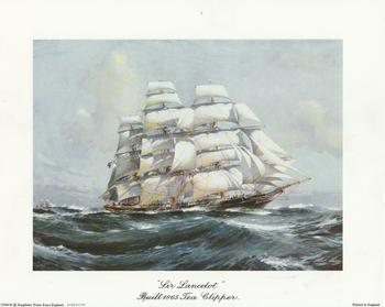 Sir Lancelot Boat - Bulit 1865 Tea Clipper - 10