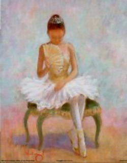 Ballerina / Ballet Dancer A B2 Main Gallery Angel