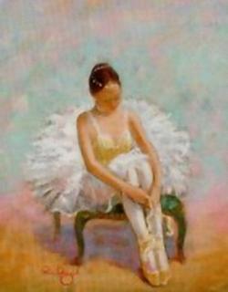 Ballerina / Ballet Dancer B B3 Main Gallery Angel