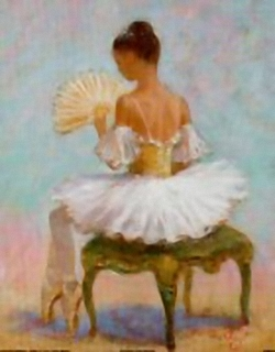 Ballerina / Ballet Dancer C B4 Main Gallery Angel