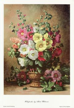 Hollyhocks by Albert Williams - 8