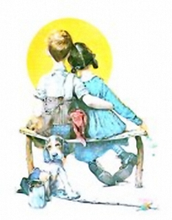 Rockwell Sweethearts B10 Main Gallery Norman Rockwell