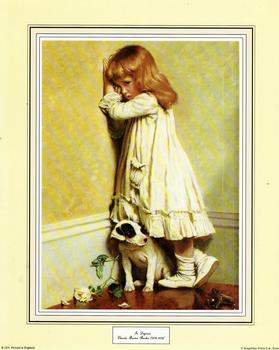 In Disgrace by Charles Burton Barber - 10