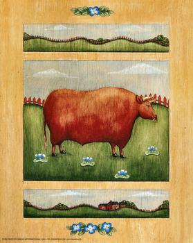 Cute Bull Print - 10
