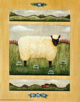 Cute Sheep Print - 10