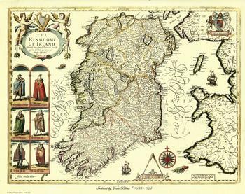 The Kingdome Of Irland by Joan Blaeu 10
