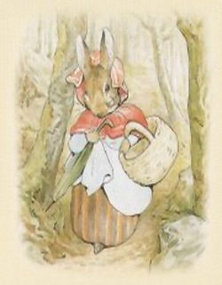 Mrs Rabbit D5 Main Gallery Beatrix Potter