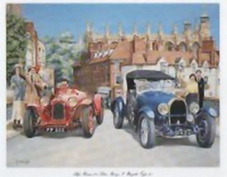 Alpha Romeo 2.3 & Buggati Type 4.3 J1 Main Gallery G Cartwright