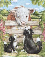 Farmyard Friends 1 - Dogs & Bull - 10