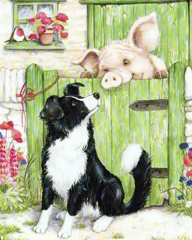 Farmyard Friends 3 - Dog & Pig - 10