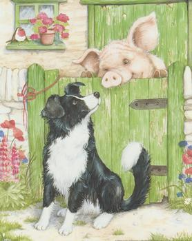 Farmyard Friends 3 - Dog & Pig - 10
