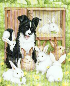Farmyard Friends 4 - Dog & Rabbits - 10