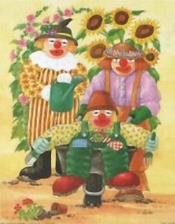 Garden Clowns K3 Main Gallery Linda Benton