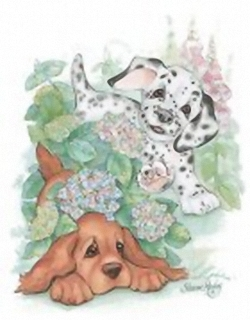 Puppy Days K1 Main Gallery Sharon Healey
