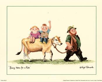 Farmer Giles  -  Being taken for a ride 2 K6 Main Gallery Nigel Edwards