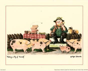 Farmer Giles - Making a pig of yourself 4 K8 Main Gallery Nigel Edwards
