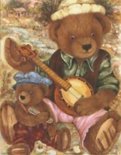 Victorian Teddies 4 K3 New Prints Ken Morton