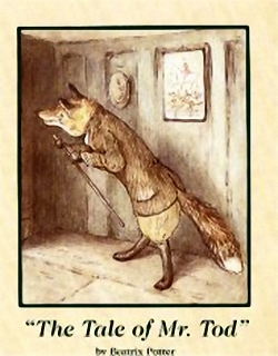 The Tale Of Mr.Todd New Prints Beatrix Potter