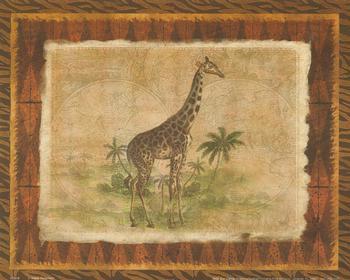 African Animal - Giraffe - 10