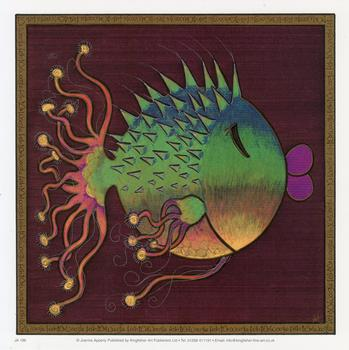 Fish Print - by Joanna Apperly - 7