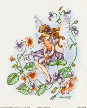 Garden Flower Fairies Print A  10