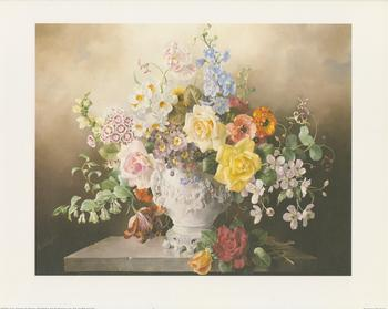 Floral Classics White Vase - B2264 10