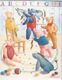 Nursery Scene II I1 Main Gallery Bettie Cheeseman