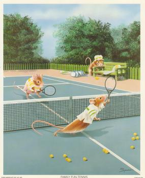 LIMITED STOCK - Family Fun Tennis By Sprovach 10