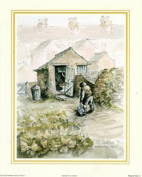 Bygone Days Print 2 - Yesterday's News by M L Clarkson - 10