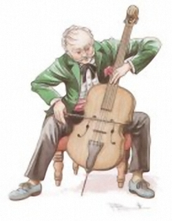 LIMITED STOCK - All In A Days Work -Playing Chello - Robin Sudbury 6