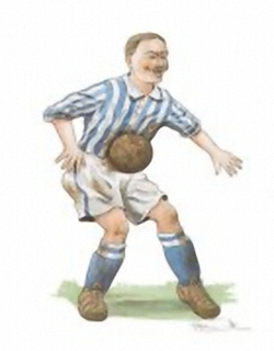 LIMITED STOCK - Sports and Pastimes -Footballer - Robin Sudbury 6