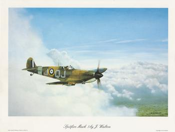 PACK OF 5 ***Spitfire Mark 5 by J Walton - 10