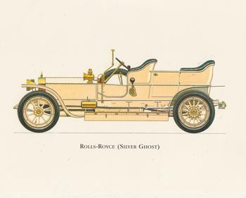 PACK OF 5****Old Fashioned Car - CREAM ROLLS-ROYCE (SILVER GHOST) - 8.5