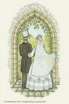 PACK OF 5 - The Wedding Day CP011 A Michael Lockwood Print 4