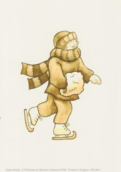 PACK OF 5 --- Sepia Skater - By Michael Lockwood - 6