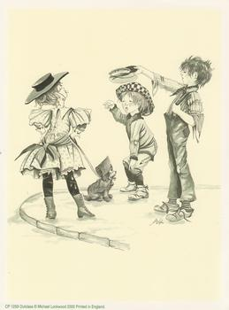 PACK OF 5 PRINTS - Black and White Prints - Outclass Cheeky Children - by Michael Lockwood 6