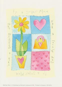 PACK OF 5 - A Super Mum / Mother - Flower and Handbag - by Michael Lockwood 4