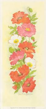 PACK OF 5***Poppy Panel***Print CP1110 by Christine Coleyan . -Jacksons mail Order