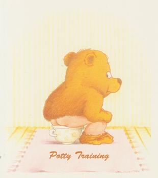 PACK OF 5****POTTY TRAINING - Cute Teddy Bear Card Topper 4
