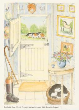 Pack of 5 *****THE STABLE DOOR ~~ Print CP1226 ~~ by Michael Lockwood -Jacksons mail Order