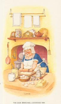 PACK OF 5 *** The Cook ** Print by Michael Lockwood 3