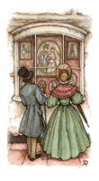 Pack of 5 Anton Pieck - Shop Window . Anton Pieck