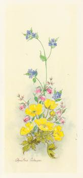 PACK 5 *** Spring Flowers 5 - Yellow Flower by Christine Coleyan -Jacksons mail Order