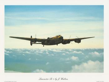 Lancaster Plane - B.1 by J Walton  10