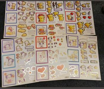 Pack of 6 Cute Teddy Bears - Various Designs - 731 729 728 733 734 730 *